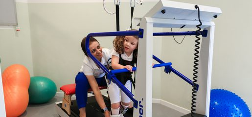 Partial body-weight support training (PBWS): a good strategy for walking training in neuropediatrics