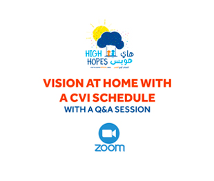 Vision At Home With A CVI Schedule